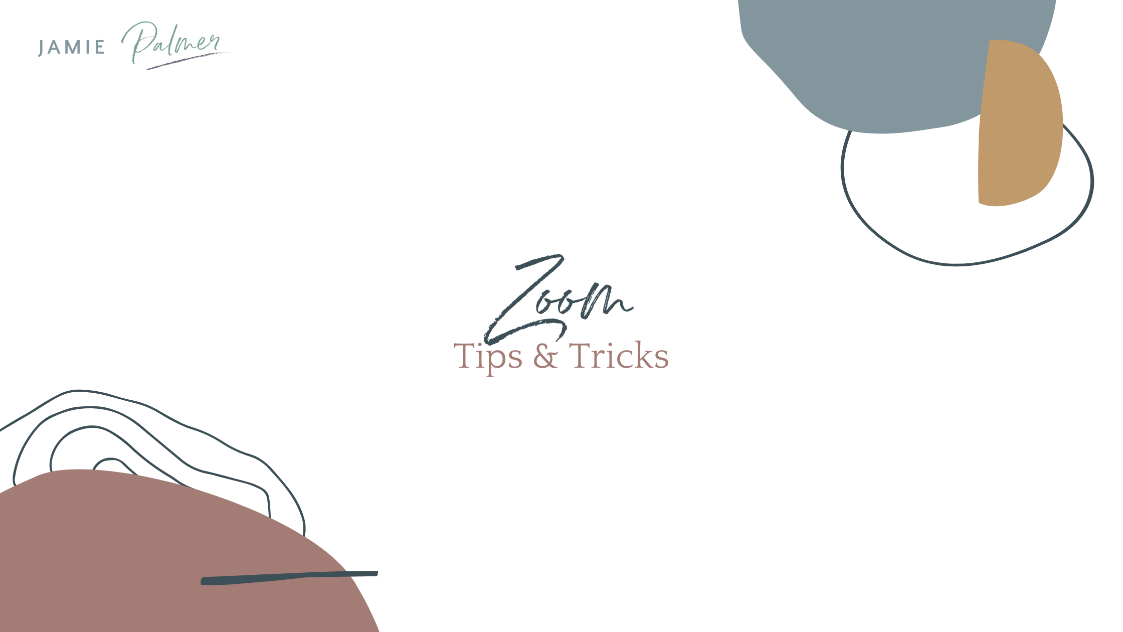 Zoom Tips and Tricks Blog